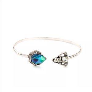 Jewelry - 💎 Vintage Crystal Blue Boho Bangle Bracelet Cuff